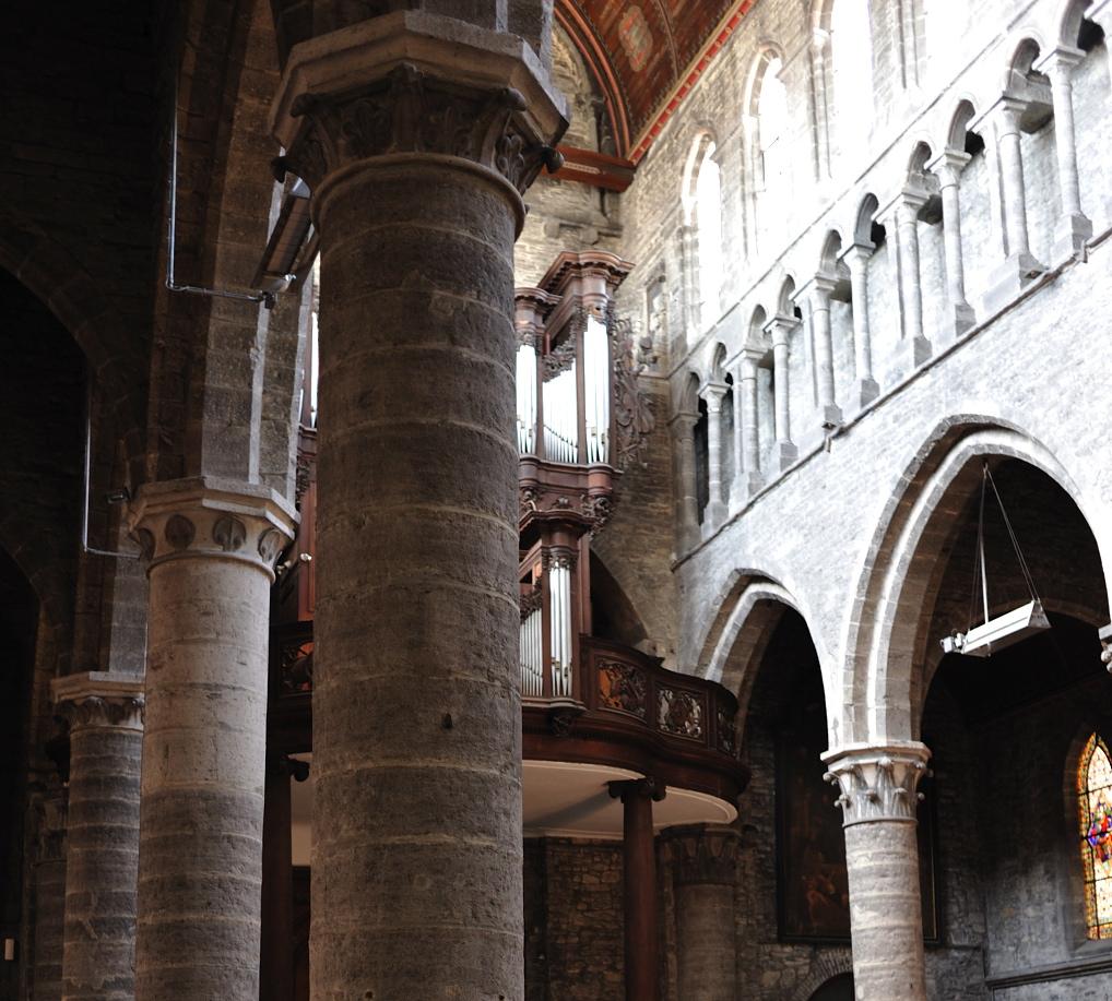 Colonnes de la nef